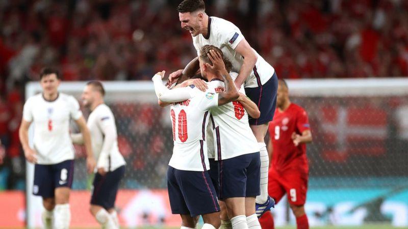 Eurocopa 2020: Inglaterra jugará su primera final del torneo europeo tras derrotar a Dinamarca en el tiempo extra