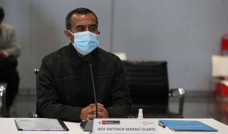 Iber Maraví: presentan moción de interpelación contra ministro de Trabajo