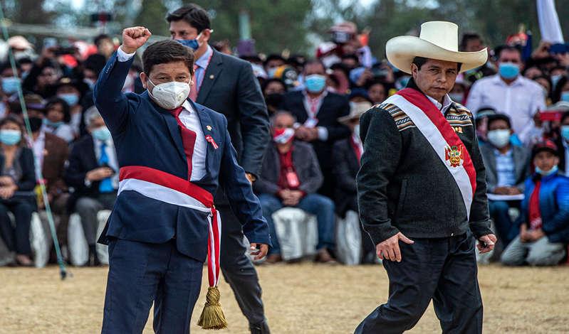 """""""Crisis total"""" en Perú: medios extranjeros reaccionan a la renuncia de Guido Bellido"""